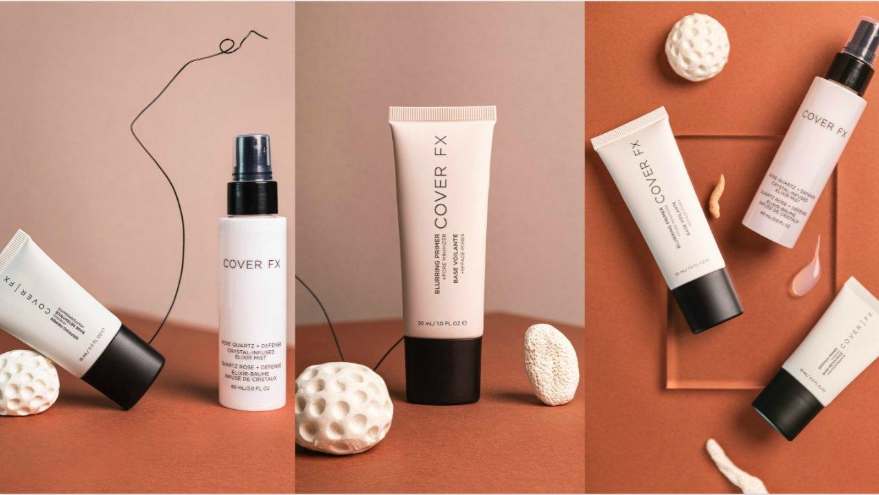 各类肤质私人订制妆前打底,Cover FX三款热门妆前全面测评