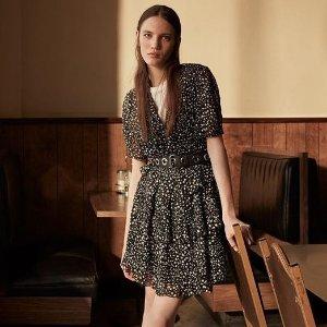 低至5折 基础款连衣裙£40收上新:AllSaints 夏日大促裙子专区 酷酷女孩也温柔