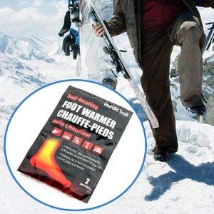 $1.55收2片装Nordic Trail 自发热加热垫2枚 不做手冷脚冷的折翼天使