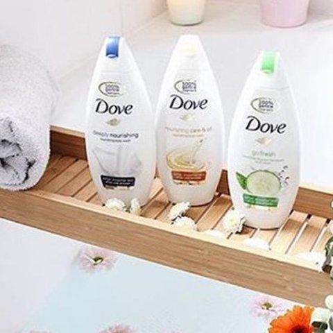 6折起+额外9折Dove 身体护理系列产品热卖 温和滋润敏感肌可用