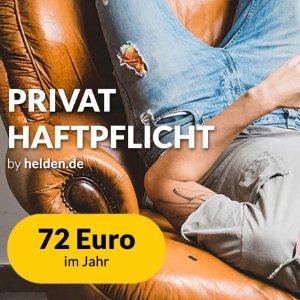 全年只要72欧让丢钥匙不小心弄坏别人东西不再成为你的烦恼!Haftpflichthelden第三方责任险!每天仅需0.18欧保费!
