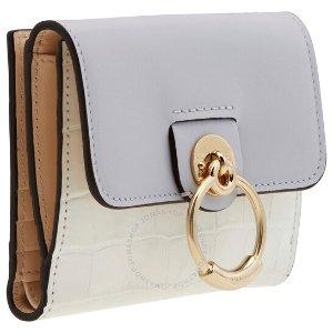 $244(原价$568)超低价:Chloe 香芋紫折叠钱包 少女心满满 小巧便携超实用