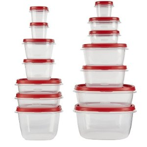 Rubbermaid 28pc Easy Find Lids Food Storage And Organization Containers : Target