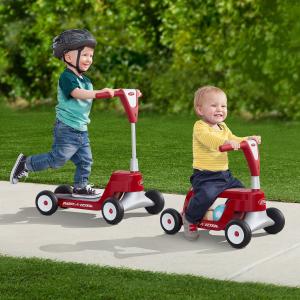 $52.76包邮(原价$120.16)Radio Flyer 儿童骑行/滑板两用车,能让孩子玩很久的车车