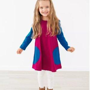 5折起Hanna Andersson 连衣裙促销 圣诞新年气息满满