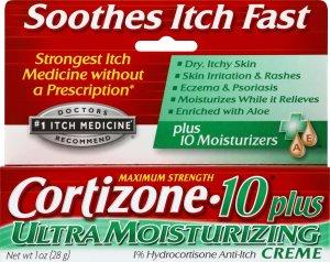 Cortizone 10 氢化可的松药膏 1oz