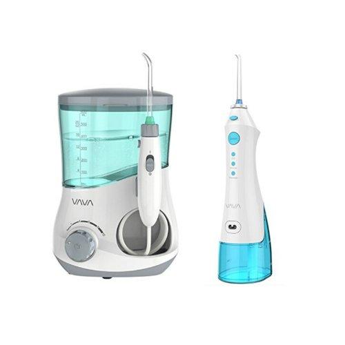 VAVA 口腔清洁水牙线(家庭式和便携式一组)