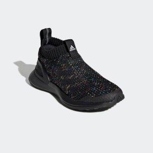 低至5折+额外8折+包邮 封面款$24折扣升级:adidas 儿童运动鞋履特卖 小脚妹子可穿大童款