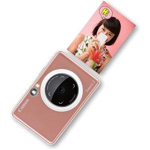CanonZoemini S照相机 玫瑰金