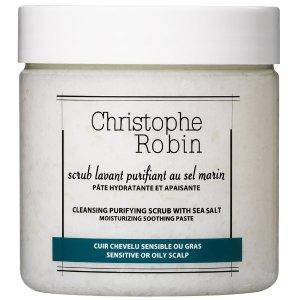 Christophe Robin海盐头皮清洁洗发膏 大号