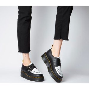 Dr.MartensDr. Martens Buckle Creepers Lazy Oaf Black White - Flats