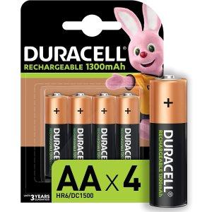 低至3.6折 €5.43收4节AA电池Duracell金霸王 铜头碱性电池 日常家用必备