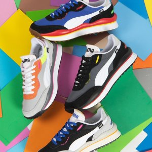 正价6折+特价额外7折PUMA官网  男款运动服饰鞋履、背包等折上折 $39收新款凉鞋