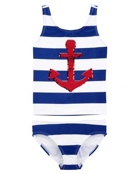 女童、大童分体式泳衣