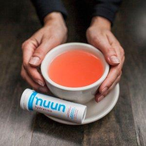 4.8折起限今天:Nuun Hydration 综合维他命泡腾片促销 多种口味可选