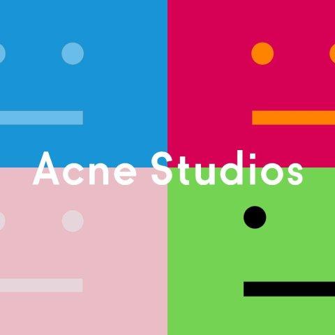 立享6折 €66收logo短袖Acne Studios 专区大促 速收毛衣、T恤、牛仔裤等好物