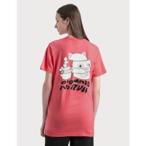 Ripndip中指猫T恤