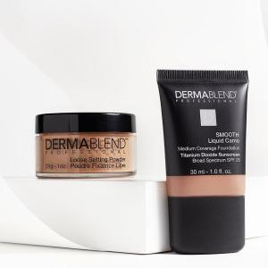 无门槛8折+送化妆包Dermablend 美妆护肤大促 收广效遮瑕膏、香蕉散粉