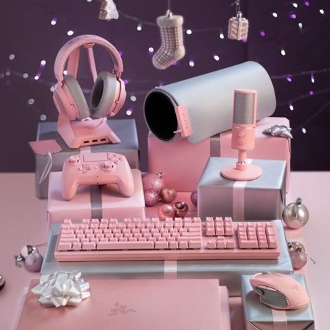低至4.8折 £146收雷蛇猫耳耳机电子产品樱花粉专区 谁说妹子不打游戏 哎呦我的少女心