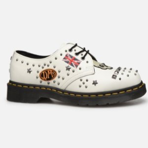 dr. martens 3孔 摇滚铆钉马丁靴