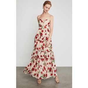 BCBGMAXAZRIALa Rosa Tiered Maxi Dress