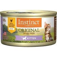 Instinct 鸡肉味无谷幼猫猫湿粮罐头 3oz 24罐