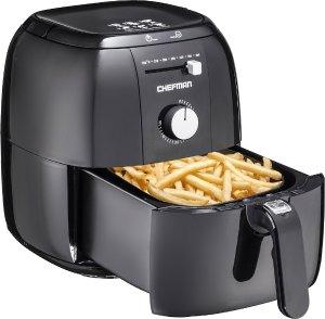 Chefman - Express 2.5L Air Fryer - Black