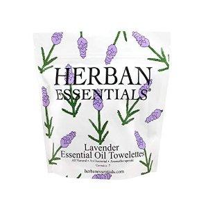 Herban Essentials 薰衣草抗菌清洁湿巾
