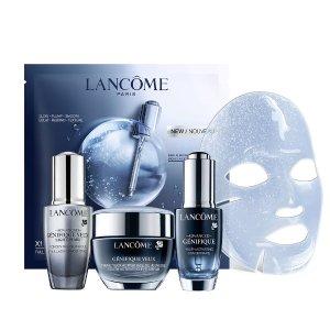 Lancome价值$205 相当于4.9折大眼精华+小黑瓶眼霜、精华套装
