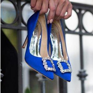 低至6折+免邮Badgley Mischka 时尚美鞋热卖,经典钻扣鞋平替款