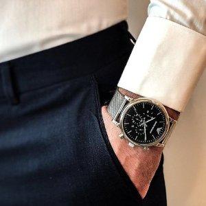 4折起+额外6.8折=变相2.7折起独家:Emporio Armani 精选手表大促 优雅气质彰显非凡