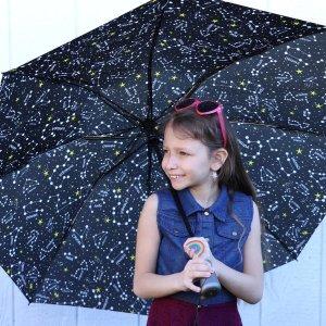 6折 $19收经典透明泡泡伞独家:Totes 全场雨伞雨具大促 封面星座伞仅$12