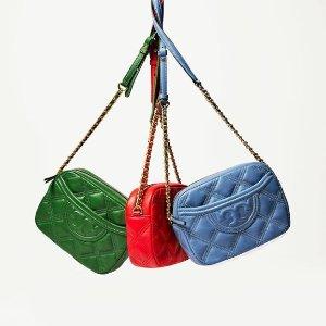 低至6折+额外8折Tory Burch 新款美包、鞋子热卖 收Fleming、Kira