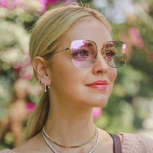低至6.5折 凹造型神器Dior 修饰脸型必备墨镜、平光镜专场