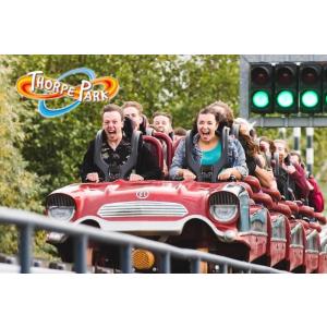 £33/人 含丛林冒险项目超刺激的Thorpe Park 门票热促 过山车爱好者必去!