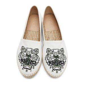 Kenzo刺绣虎头渔夫鞋