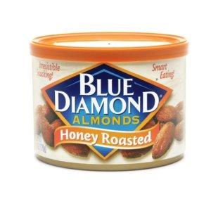 2盒仅$3.5(原价$4.59一盒)Blue Diamond 美国大杏仁促销热卖