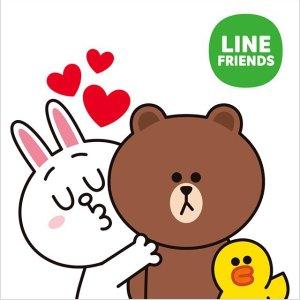 买2件 1件$9.99Line Friends T恤全面降价 收萌萌哒布朗熊