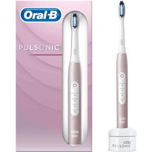 Oral-B 超轻声波电动牙刷 高颜值玫瑰金色