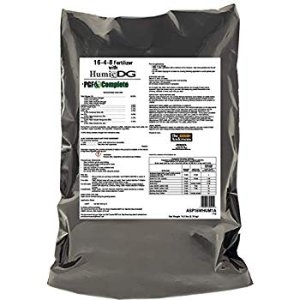 Amazon.com : PGF Complete All in One Complete Lawn Fertilizer 16-4-8 with Humic DG (18 lb.) : Garden & Outdoor