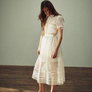 低至2.5折 入超精致蕾丝裙Self-Portrait 精选美衣,裙装热卖