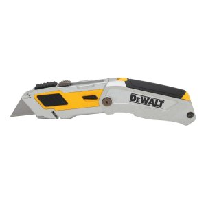 DeWalt 6-3/4 in. Folding Utility Knife Yellow 1 pk