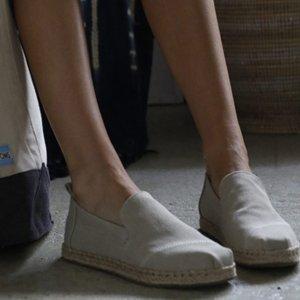 女士帆布鞋