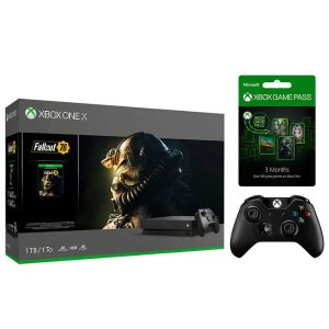 $349.99Xbox One X FO 76 Bundle w/ Extra Controller & 3-Mo. Game Pass