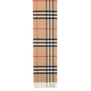 BurberryCheckered 羊绒围巾