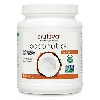 $12.34 烹饪护肤都可用Nutiva 有机特级初榨椰子油 1.6L装