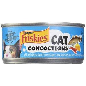 Friskies芝士鳕鱼培根猫罐头 156g
