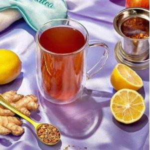 $10收生普洱 $12收广州乌龙上新:Davids Tea 养生健康排毒茶专场 调养身心 美容保健双合一