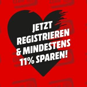 仅今天!泡脚盆€17 拍立得€5711.11好价:Mediamarkt 全场11%off 三星、戴森、拍立得更享8.5折