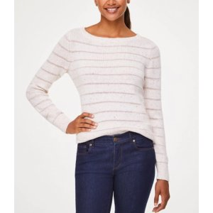 $10 Off $100Shimmer Sweater